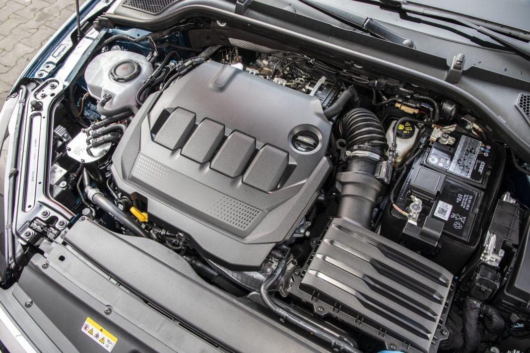 Skoda Octavia Combi 2.0 TDI DSG test 2020 - silnik