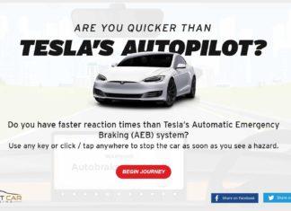 Czy jesteś szybszy niż Autopilot w Tesli?
