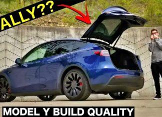 Tesla Model Y zalicza sporo wpadek przez fatalną jakość
