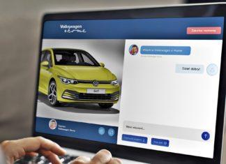 Volkswagen e-Home. Znajdź nowy samochód bez wychodzenia z domu