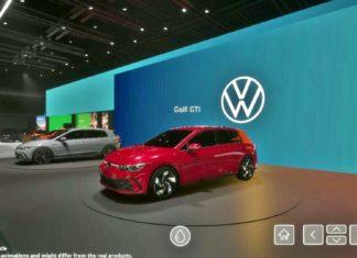 Tak mogło wyglądać stoisko Volkswagena na salonie w Genewie
