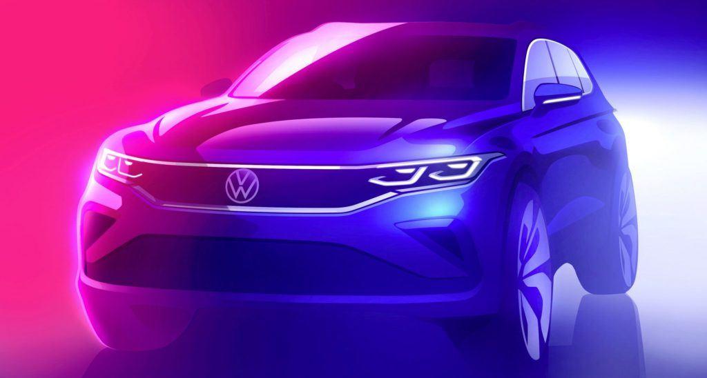 VW Tiguan - zapowiedź