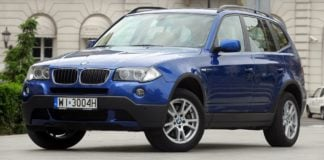 BMW X3 E83 FL xDrive20d 2.0d 177KM 6AT WI3004H 07-2008