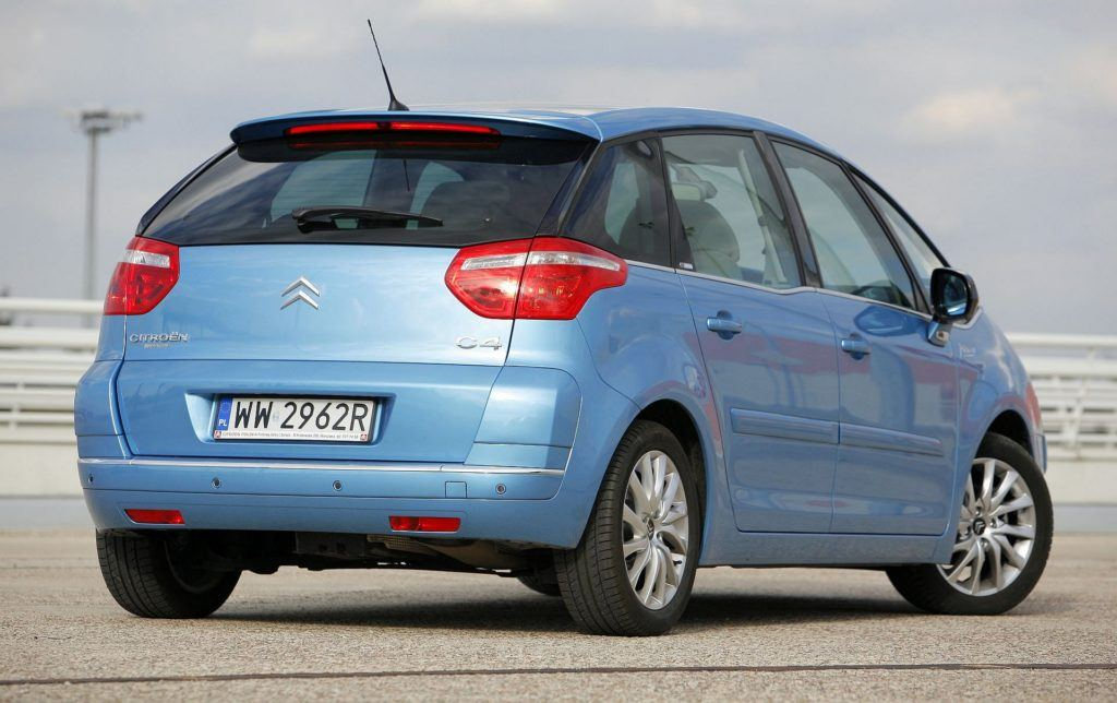 CITROEN C4 Picasso I Exclusive 1.6HDi 109KM 5MT WW2962R 09-2007