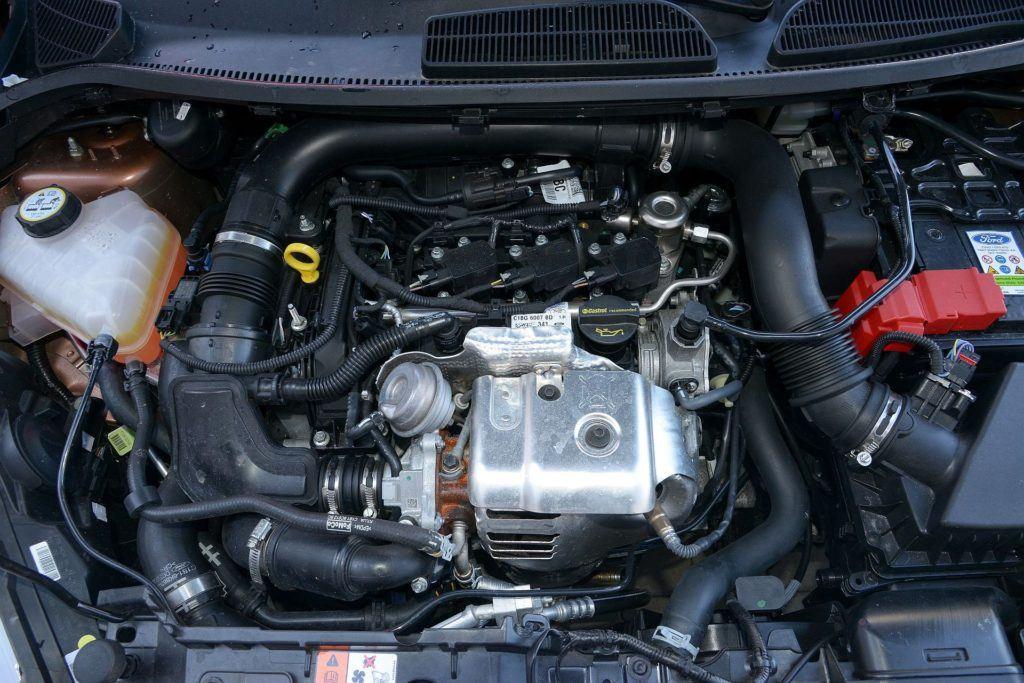FORD Fiesta VI FL Titanium 1.0EcoBoost 100KM 5MT WE247FC 03-2013