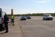 Fotoradar od ITD - testy na lotnisku