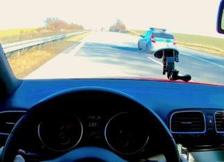 247 km/h Golfem VI na LPG. Co na to straż graniczna?