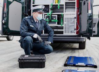 Skanowanie auta podczas kontroli! ITD ma nowy sprzęt