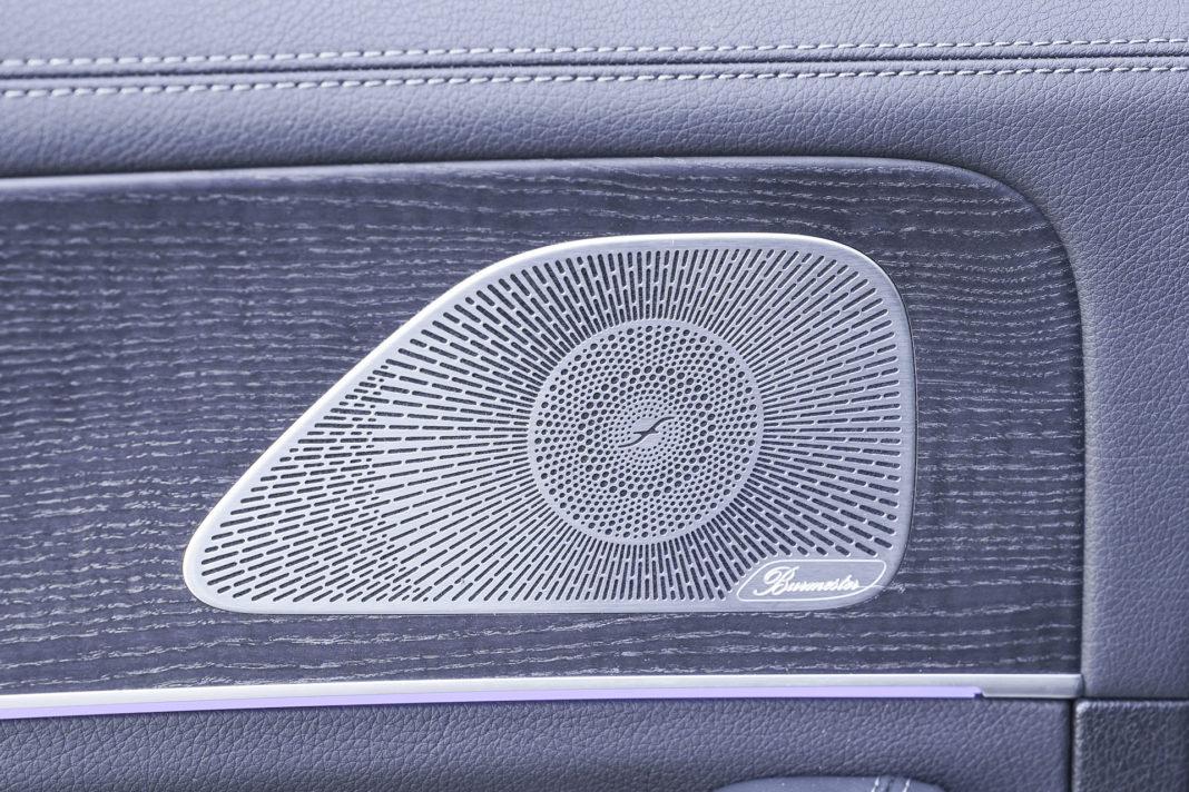 Mercedes GLE - audio Burmester