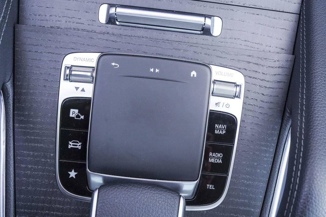 Mercedes GLE - gładzik