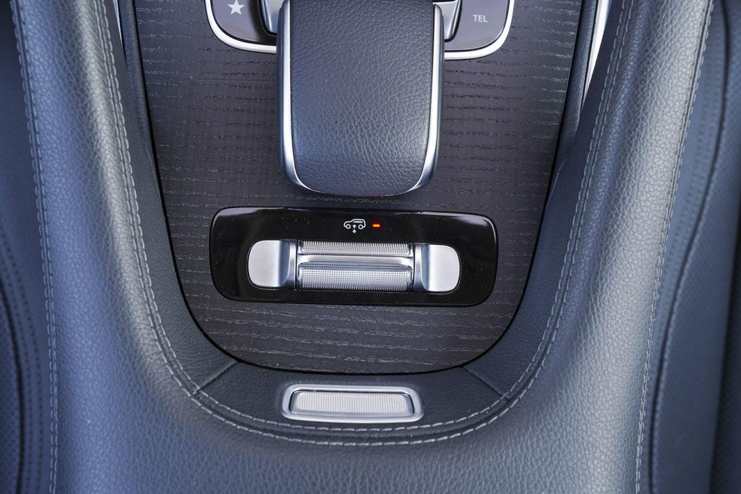 Mercedes GLE - dźwigienka do zmiany prześwitu