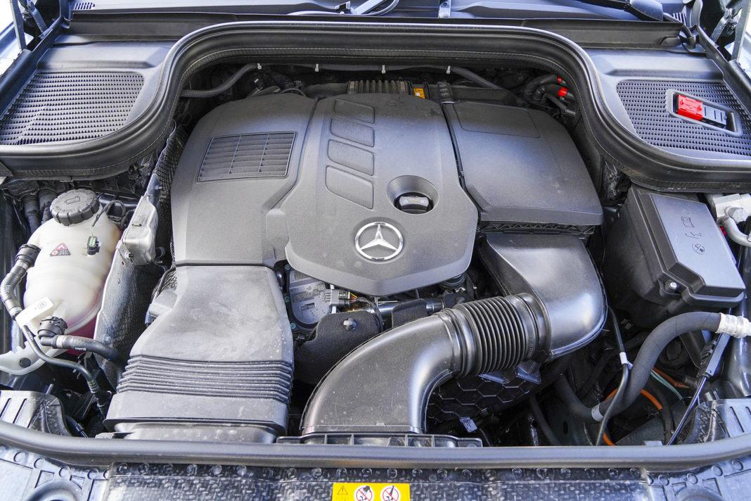 Mercedes GLE - silnik