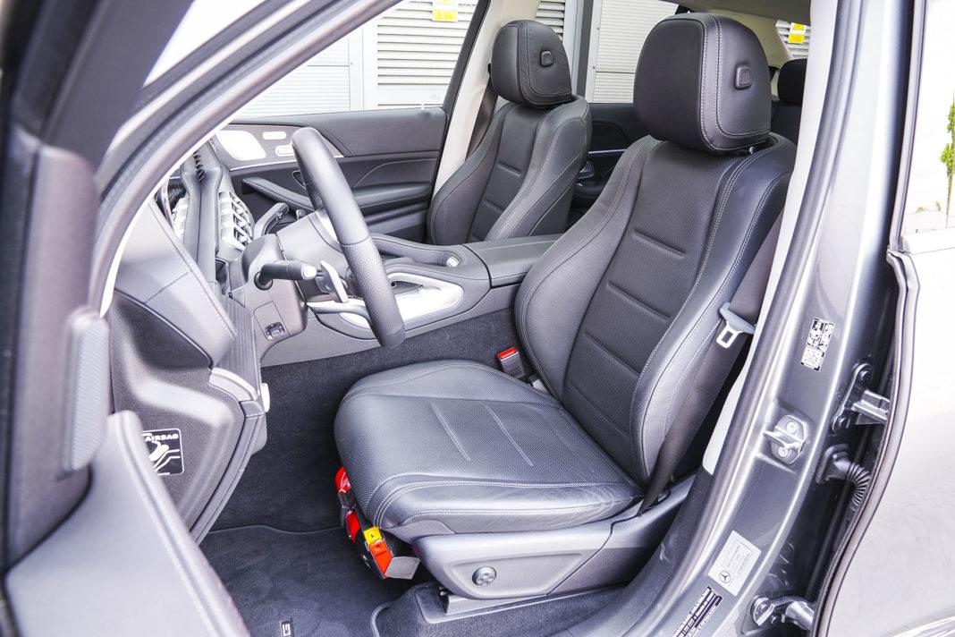 Mercedes GLE - fotele