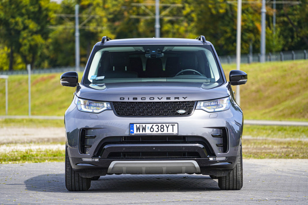 Land Rover Discovery - przód