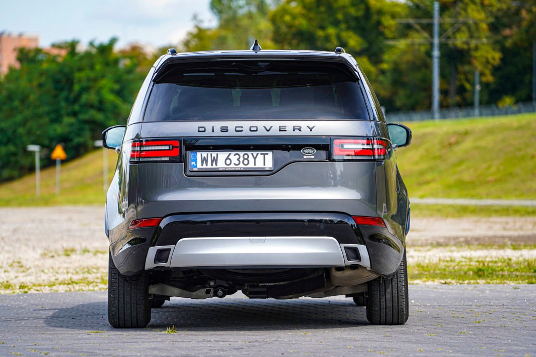 Land Rover Discovery - tył