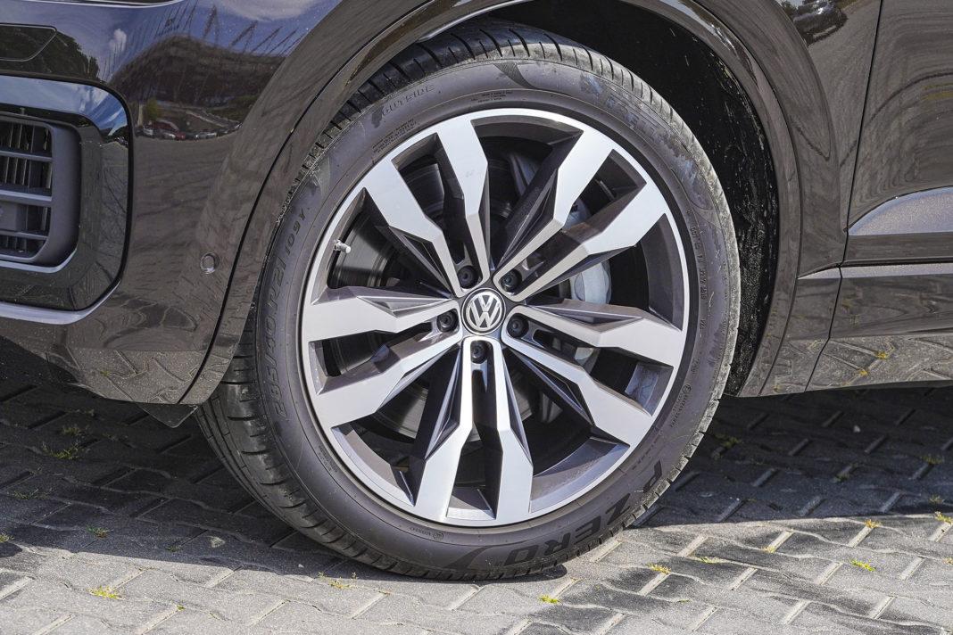 Volkswagen Touareg - koło