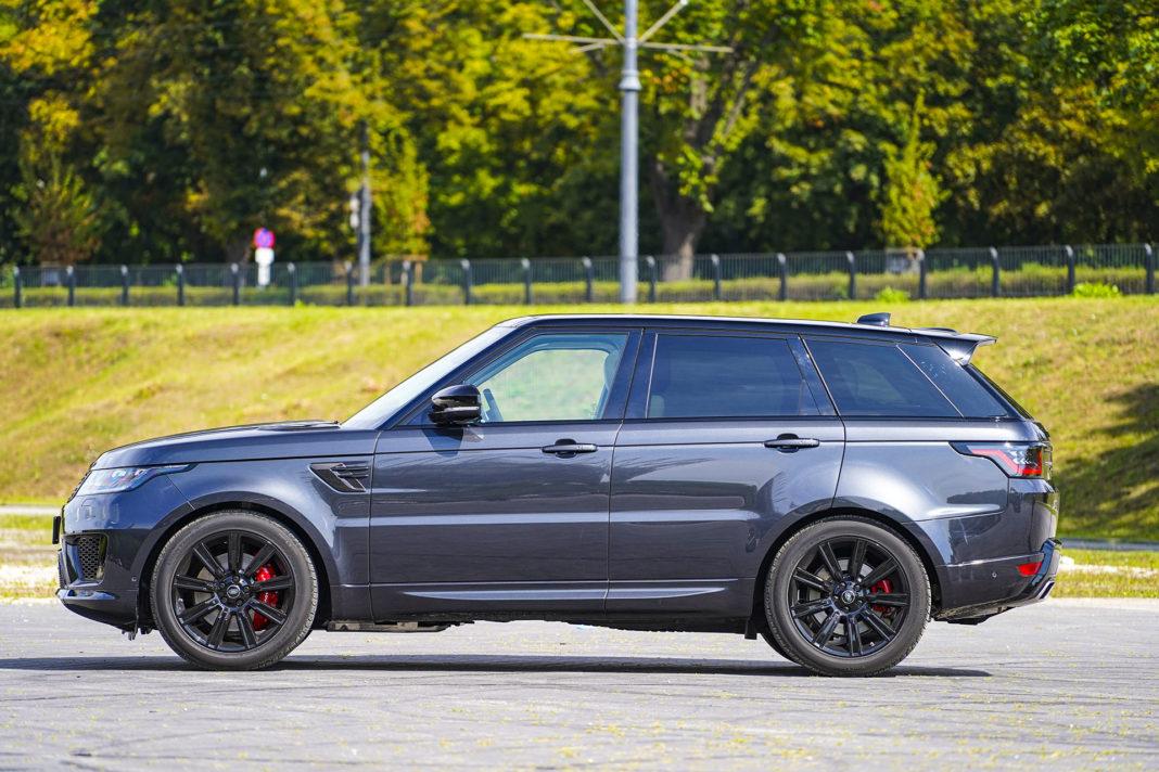 Range Rover Sport - bok