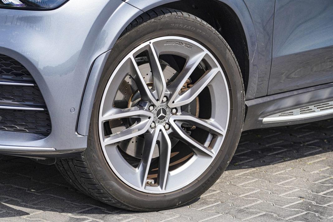 Mercedes GLE - koło