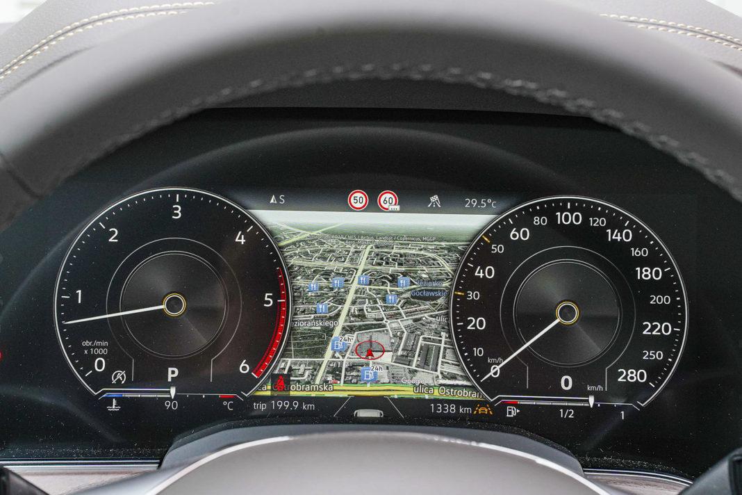 Volkswagen Touareg - wskaźniki