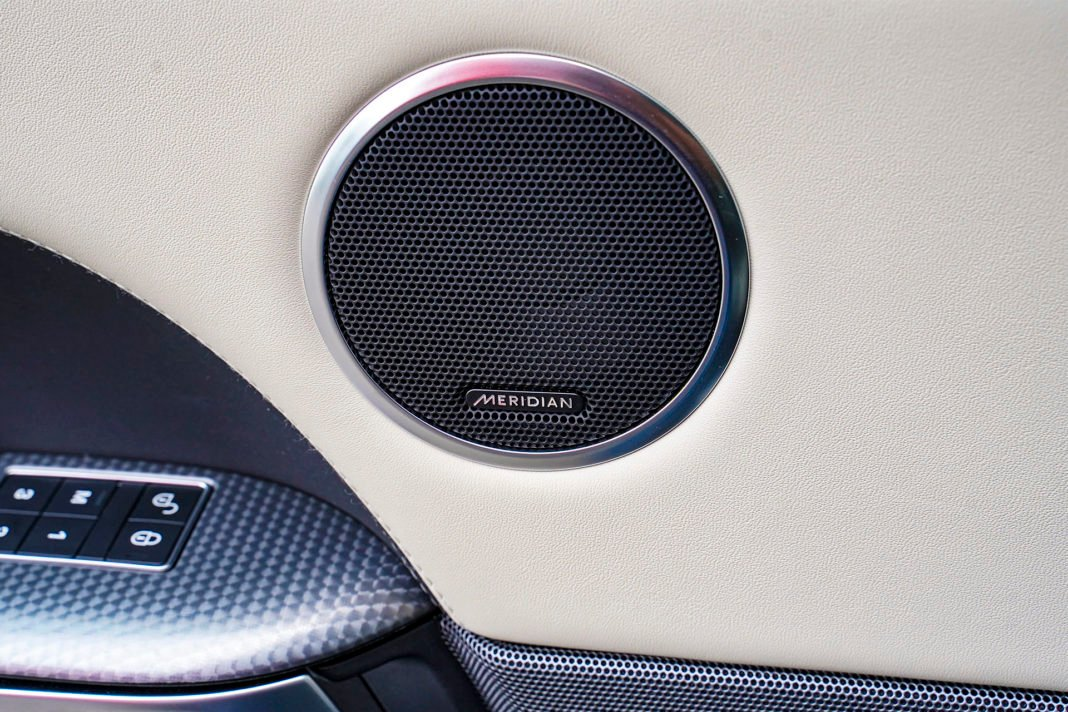 Range Rover Sport - audio Meridian