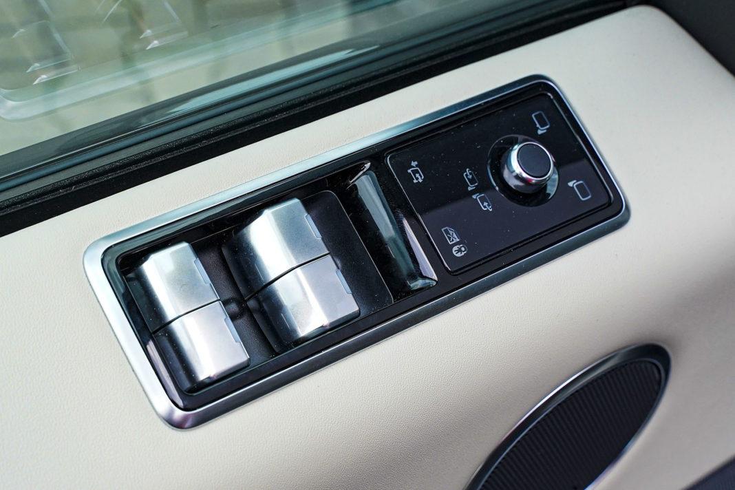 Range Rover Sport - sterowanie szyb