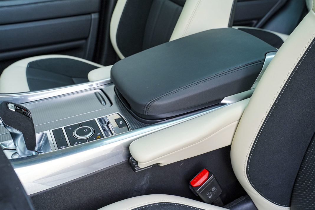 Range Rover Sport - indywidualne podłokietniki