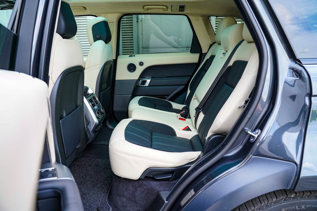 Range Rover Sport - kanapa