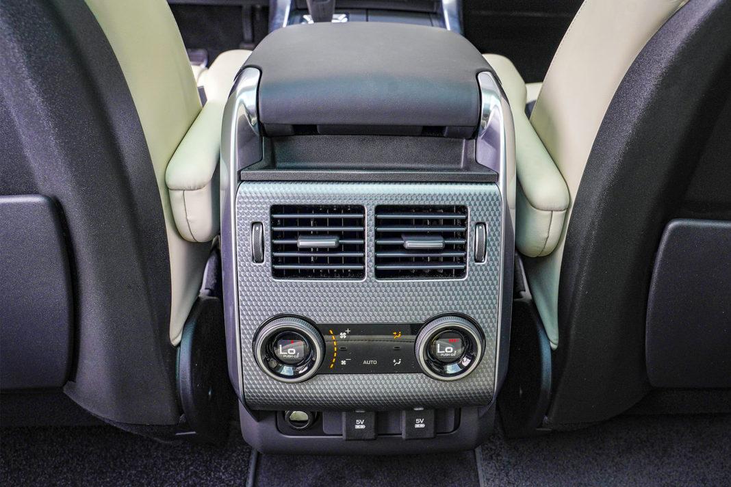 Range Rover Sport - 4-strefowa klimatyzacja