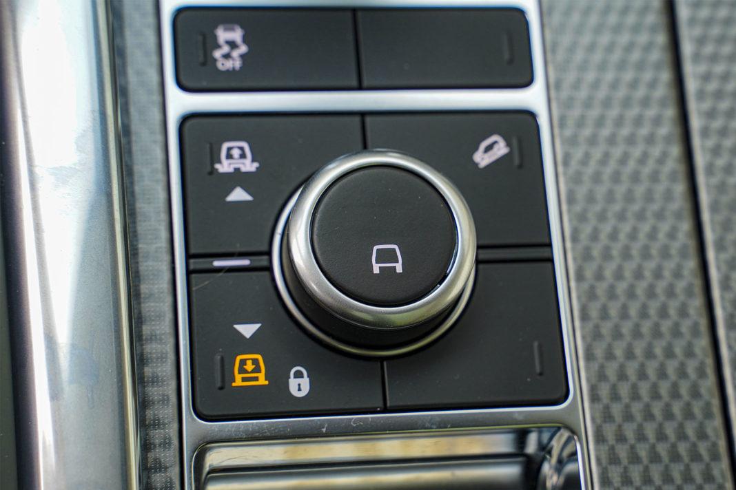 Range Rover Sport - pneumatyczne zawieszenie