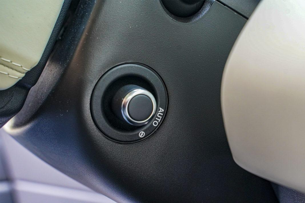 Range Rover Sport - elektrycznie sterowana kierownica