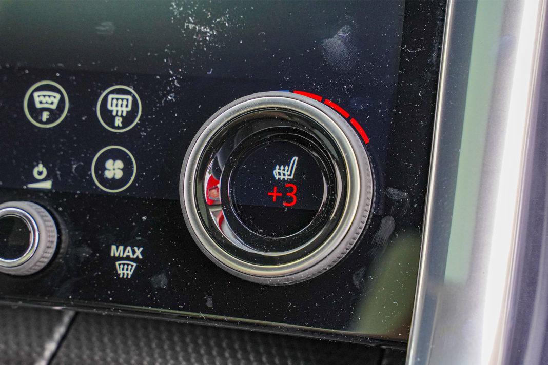 Range Rover Sport - wielofunkcyjne pokrętła
