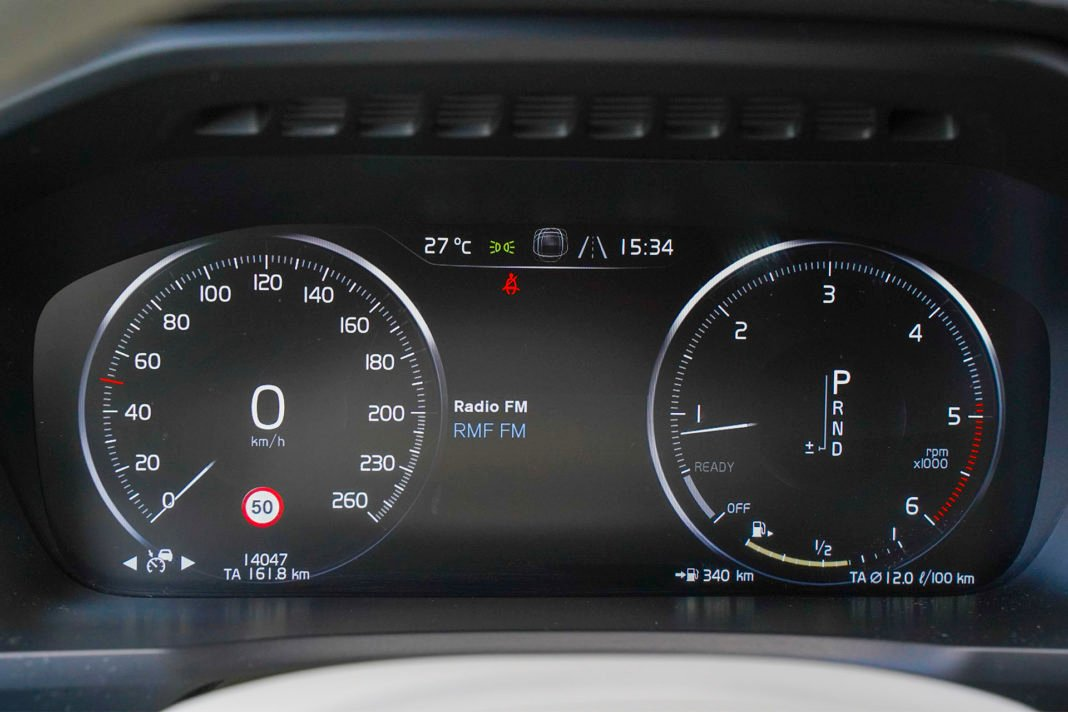 Volvo XC90 - wskaźniki