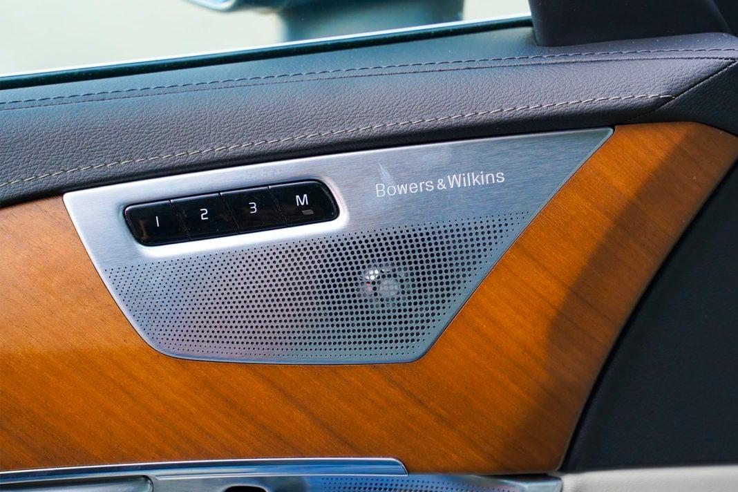 Volvo XC90 - audio Bowers & Wilkins