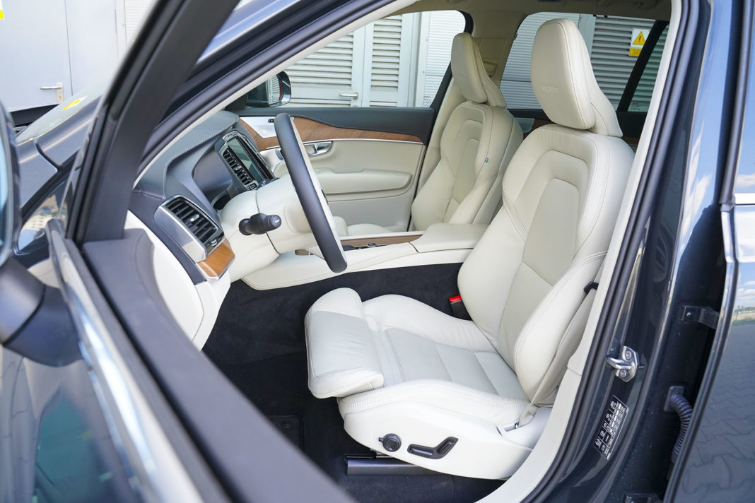 Volvo XC90 - fotele