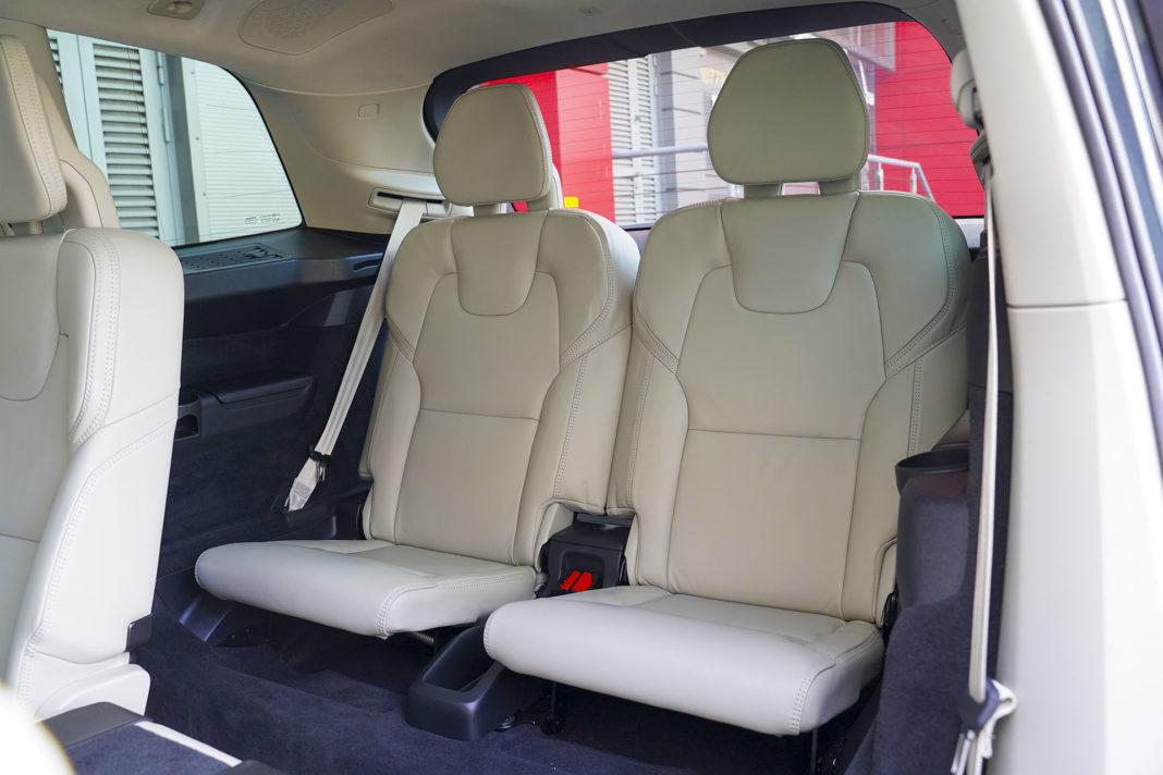 Volvo XC90 - trzeci rząd siedzeń