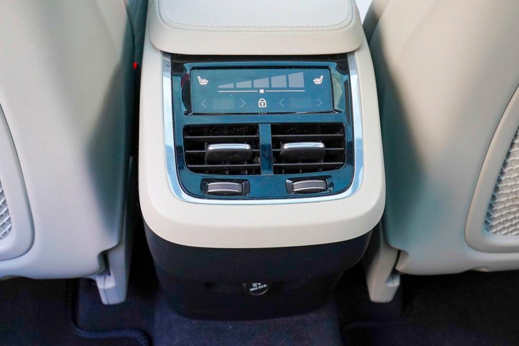 Volvo XC90 - 4-strefowa klimatyzacja