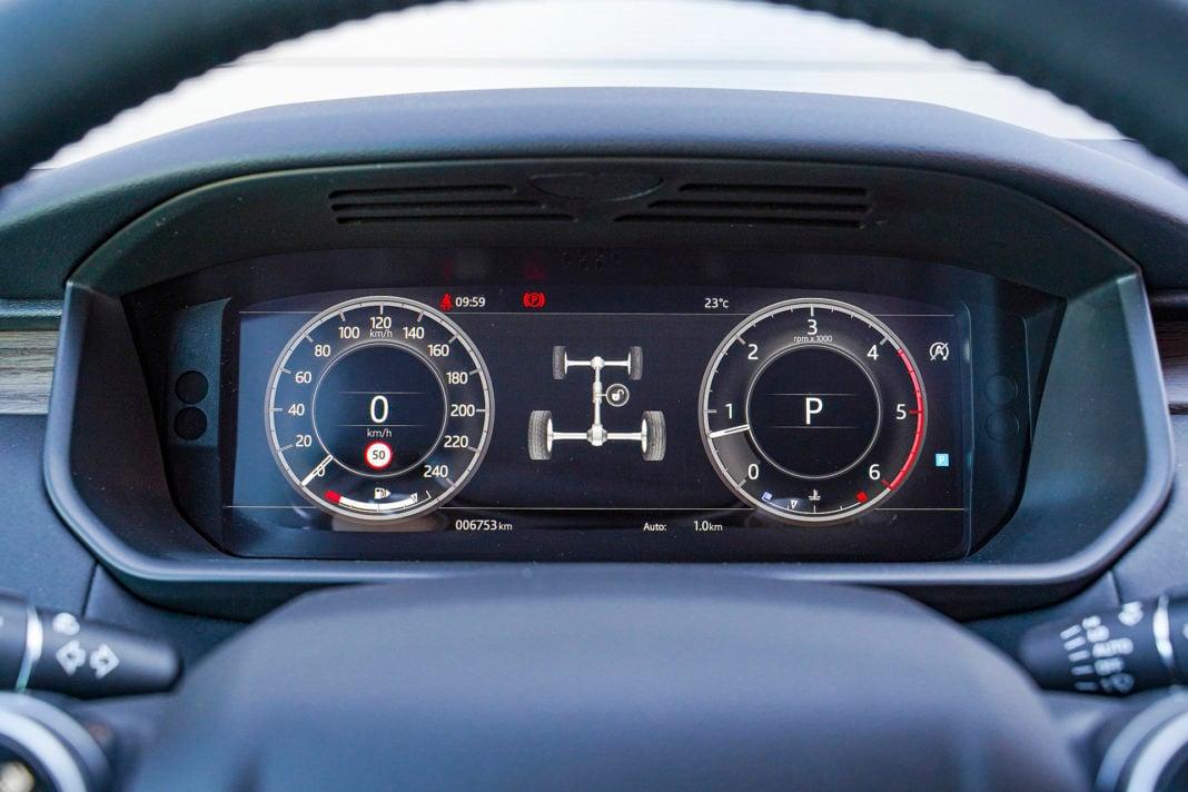 Land Rover Discovery - wskaźniki