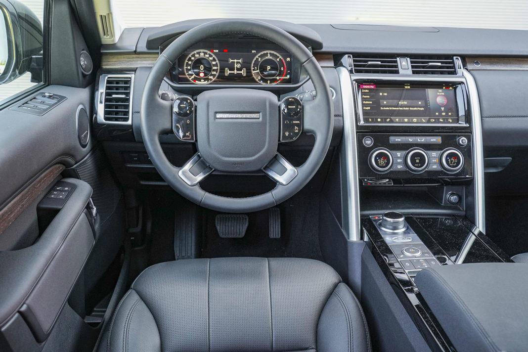 Land Rover Discovery - deska rozdzielcza
