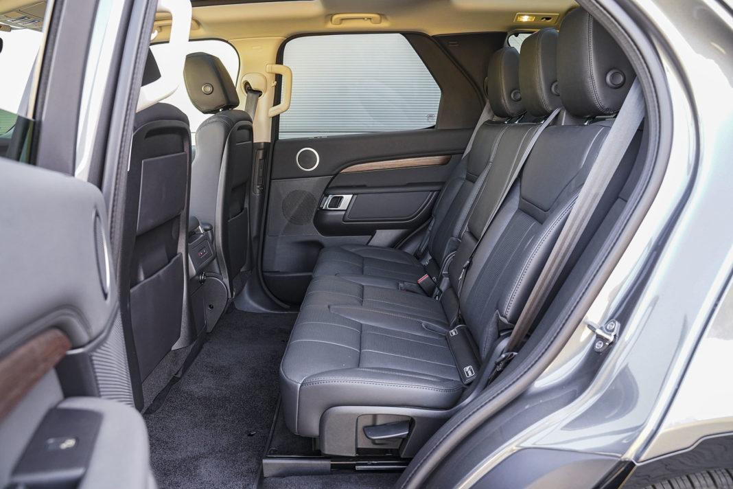 Land Rover Discovery - kanapa