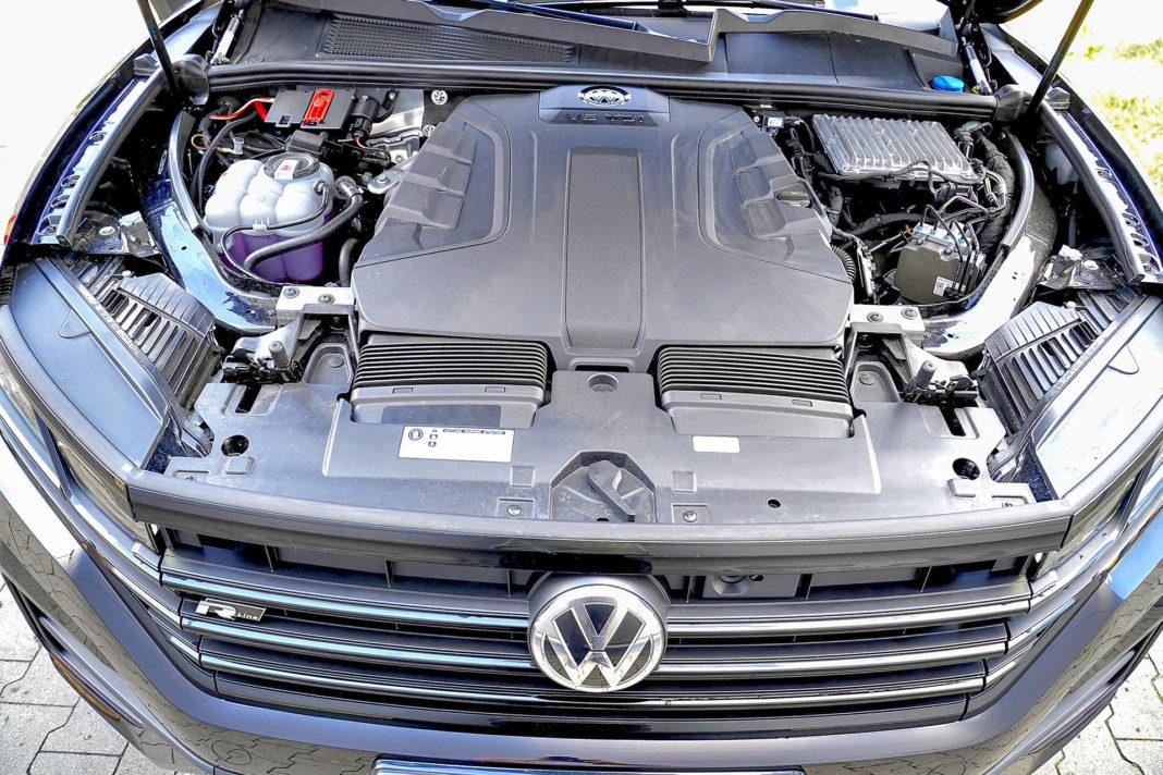 Volkswagen Touareg - silnik