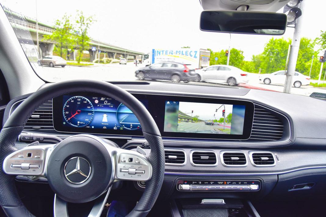 Mercedes GLE - systemy wspomagające