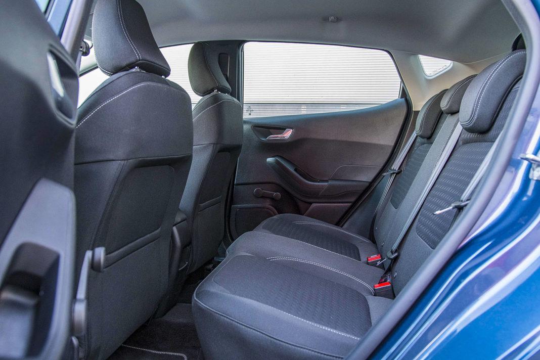 Ford Fiesta - kanapa