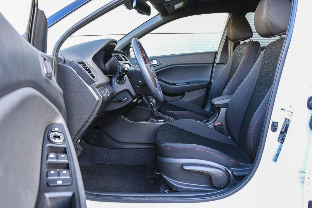 Hyundai i20 - fotele