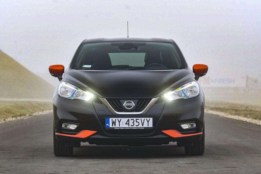 Nissan Micra - przód