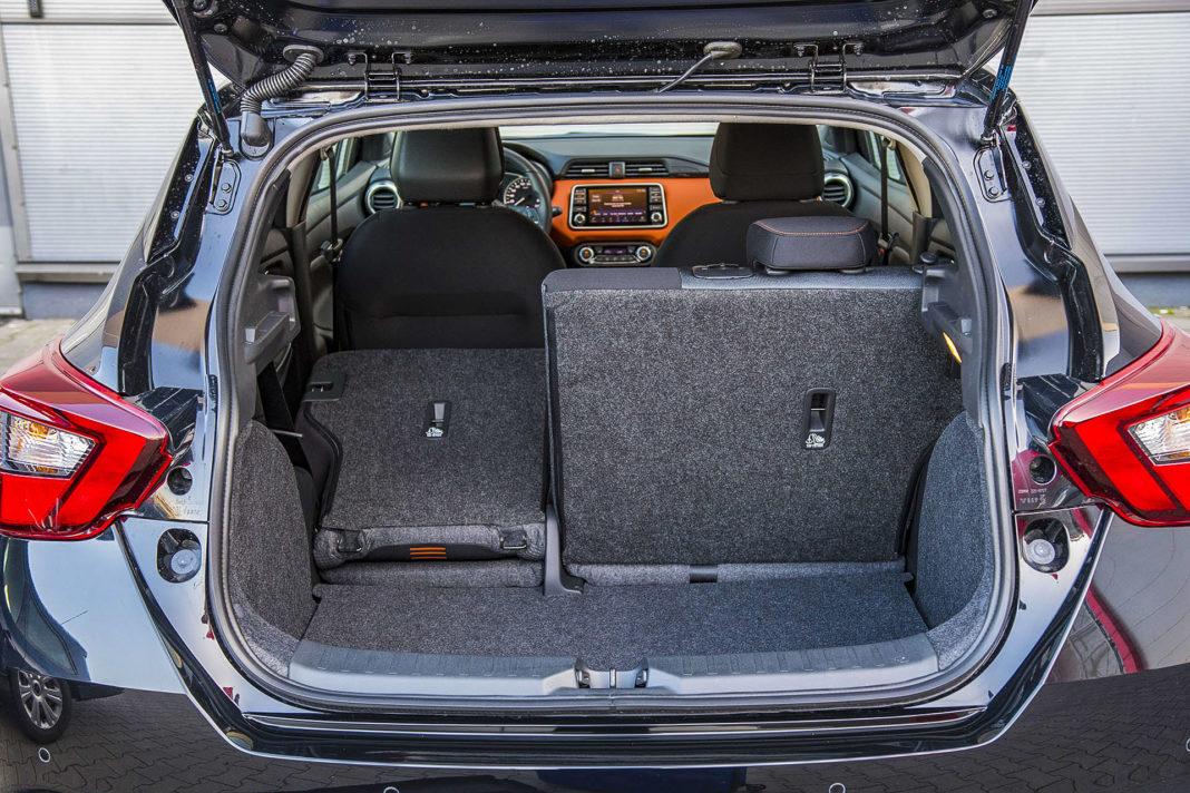 Nissan Micra - bagażnik