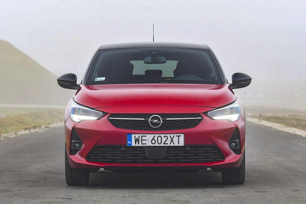 Opel Corsa - przód