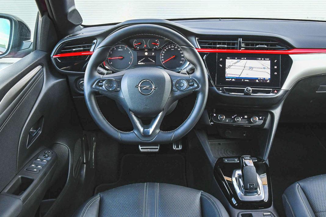 Opel Corsa - deska rozdzielcza