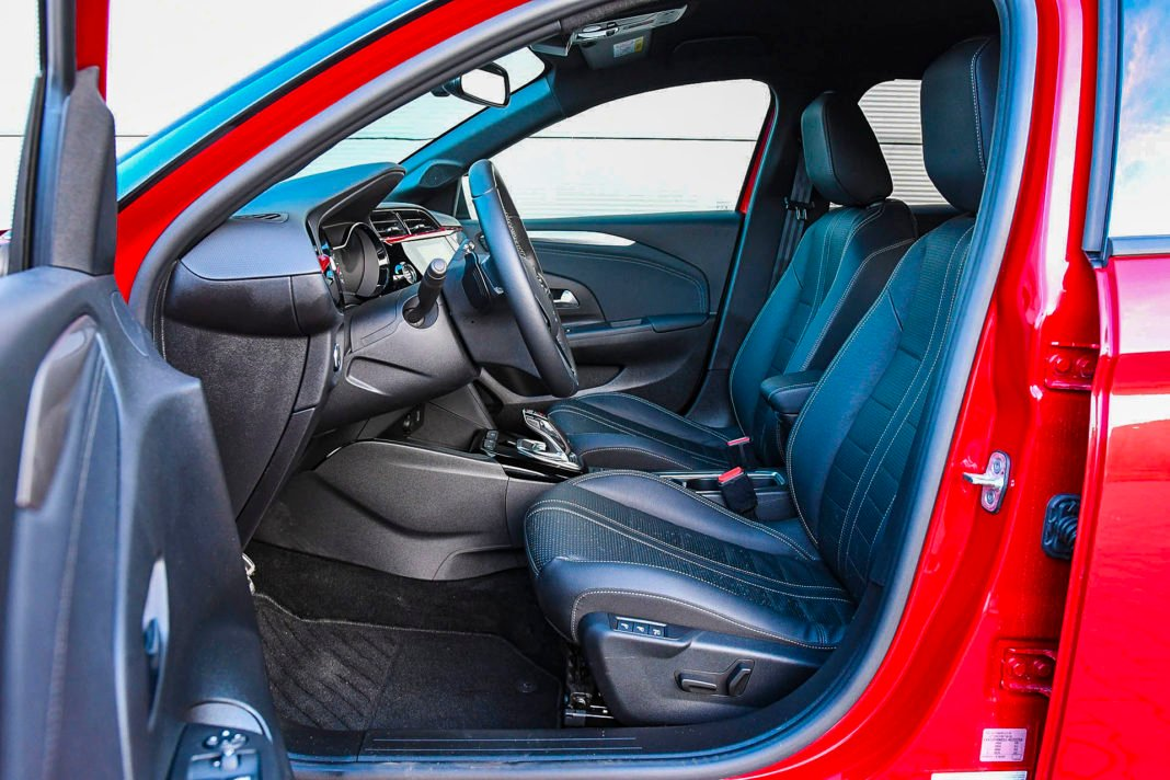 Opel Corsa - fotele
