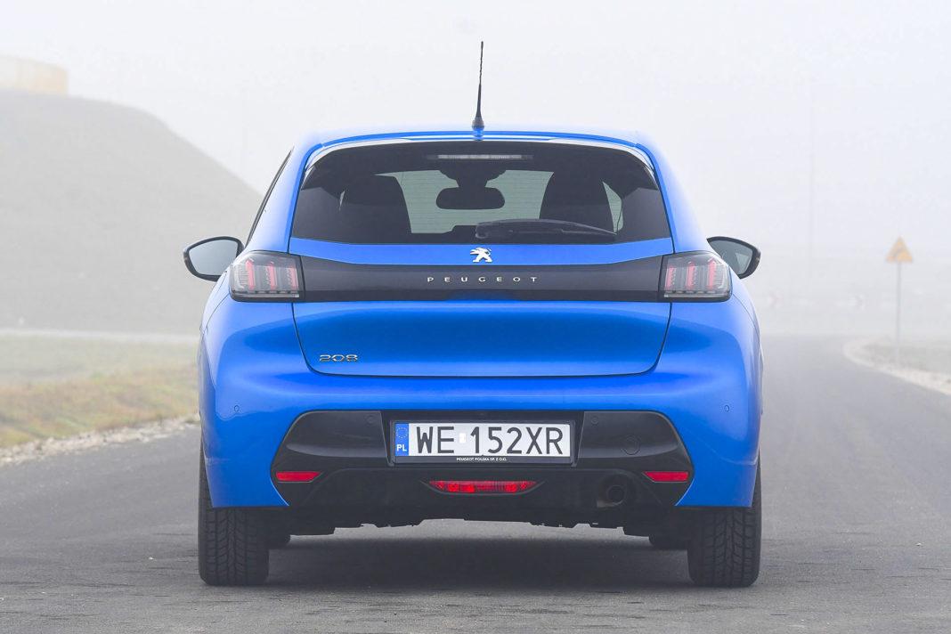Peugeot 208 - tył