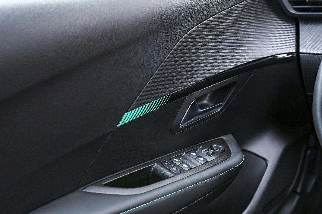 Peugeot 208 - efektowne oświetlenie